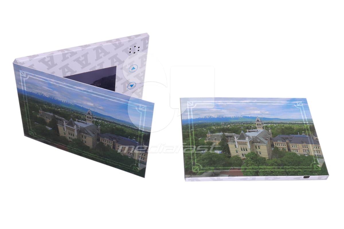 "A Video Brochure 5 x 7 - Screen: 4"""