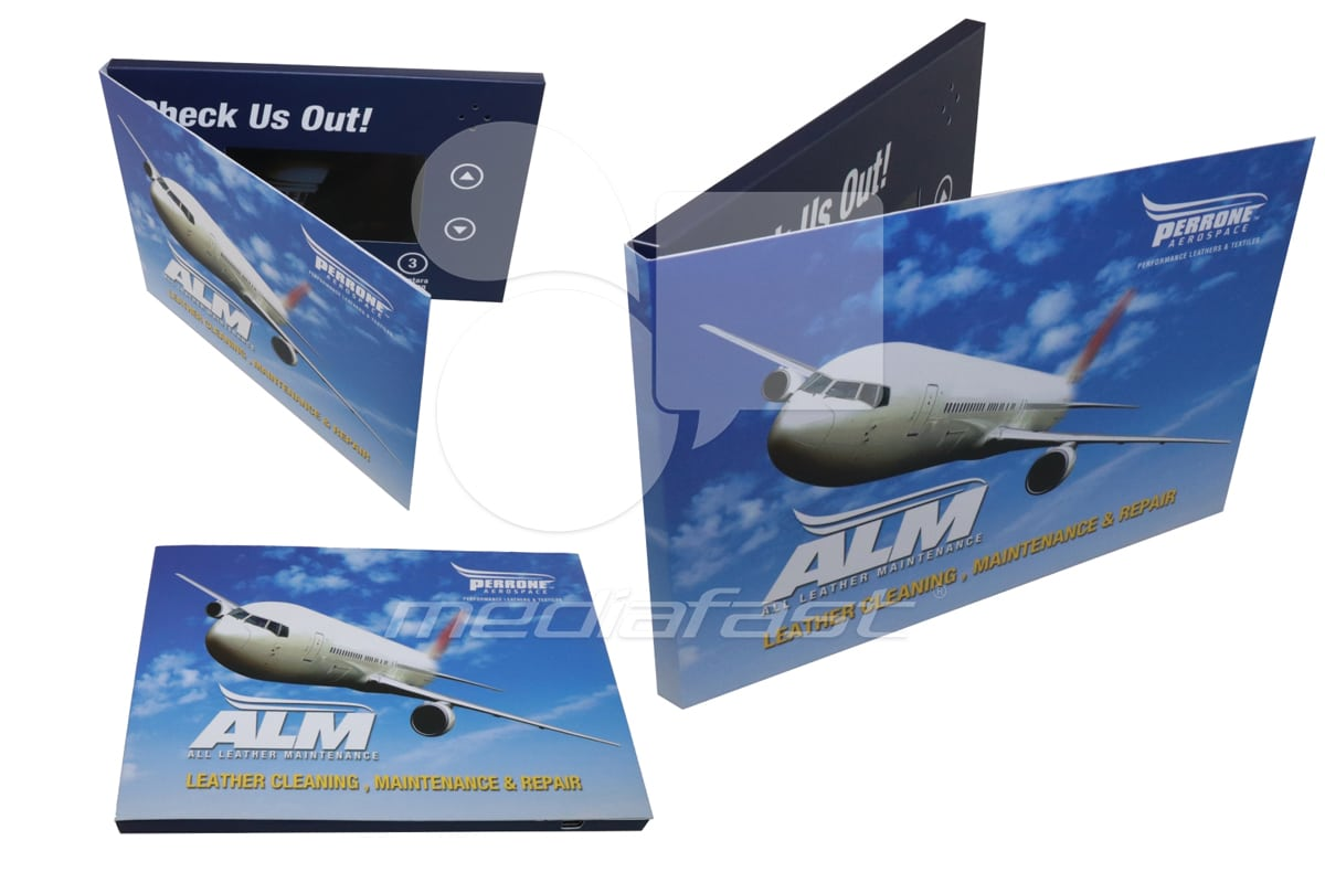 "ALM Video Brochure 5 X 7: Screen: 4"""