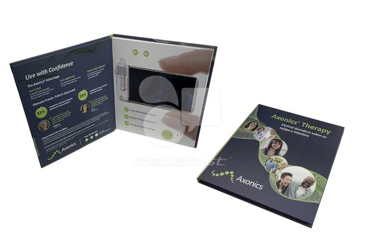 """AXONICS Video Brochure Brochure 10 x 8.6 - Screen: 7"""""""