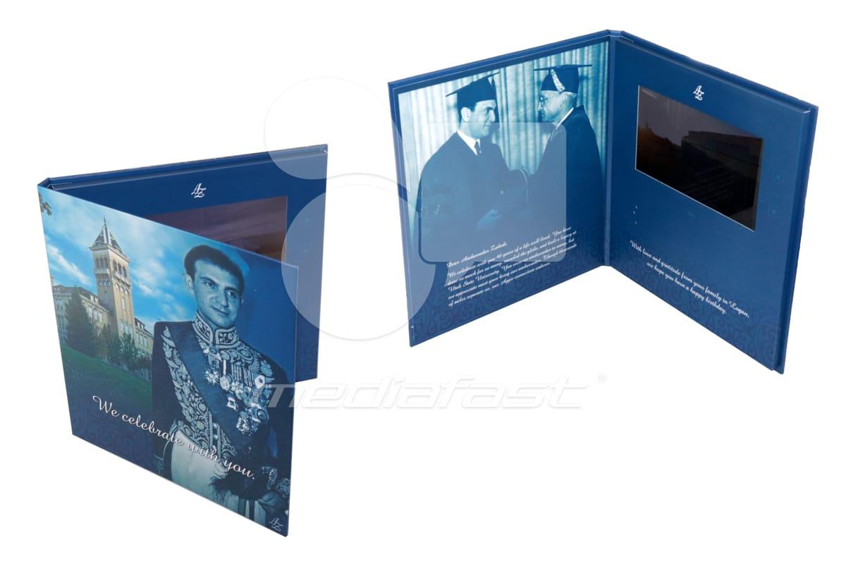 "AZ Hard Civer Video Brochure 9 X 10. - Screen: 7"""