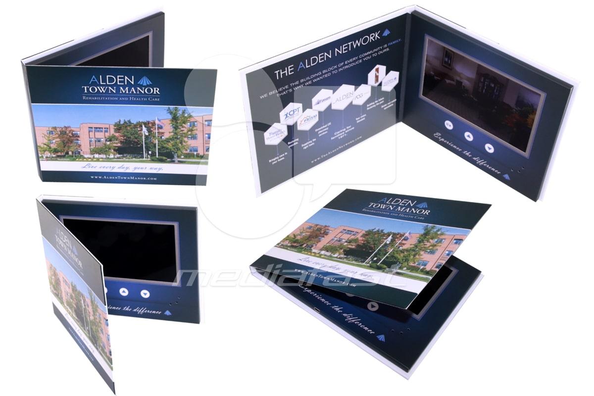 """Alden Town Manor Video Screen: 7"""""""