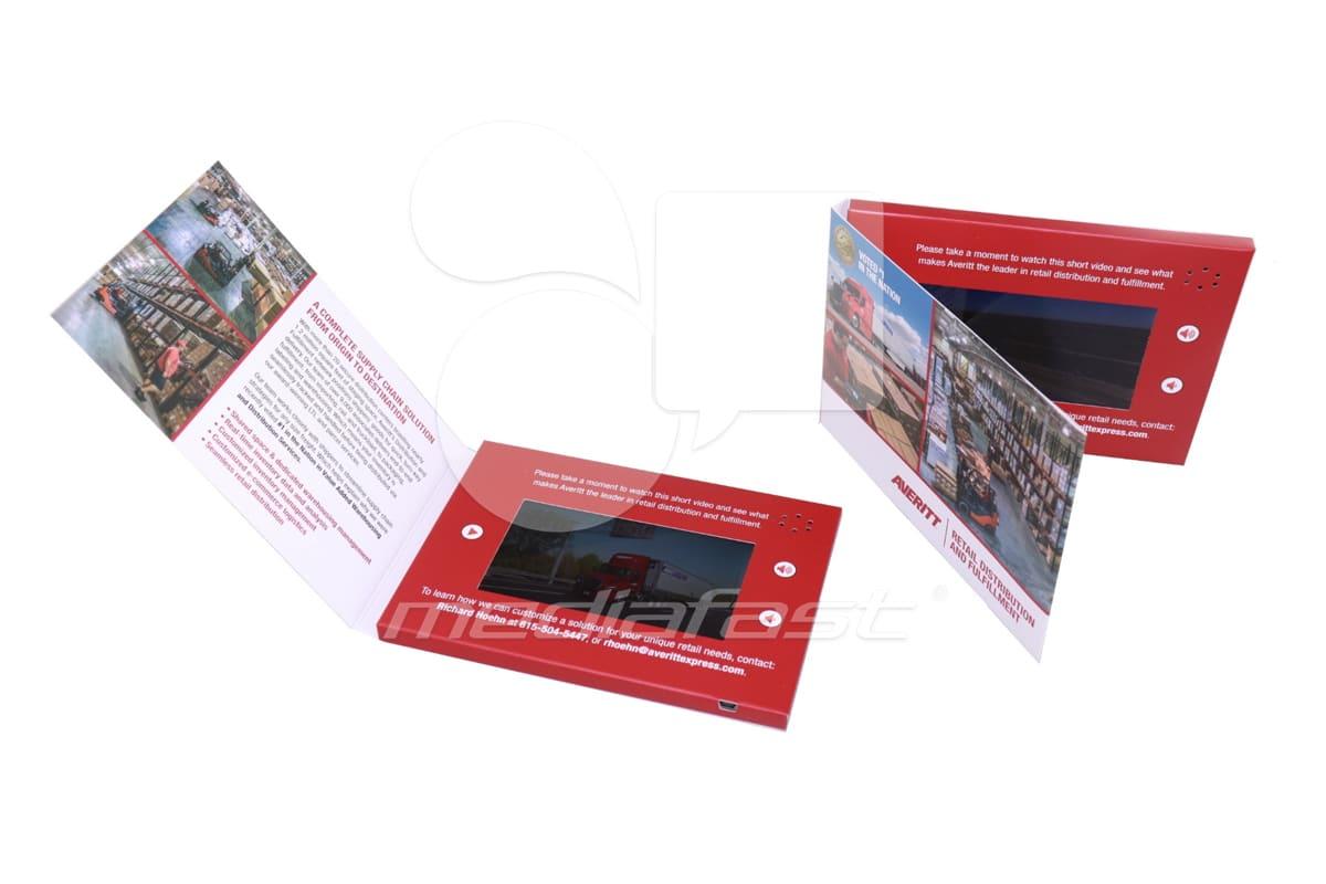 """Averitt Video Brochure 5 X 7. Screen: 5"""""""