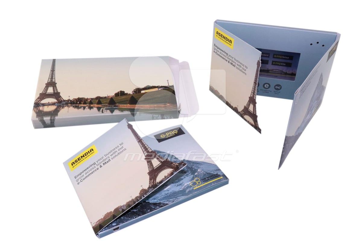 "Asendia - Mailer Brochure 5 x 7  - Screen: 4"""