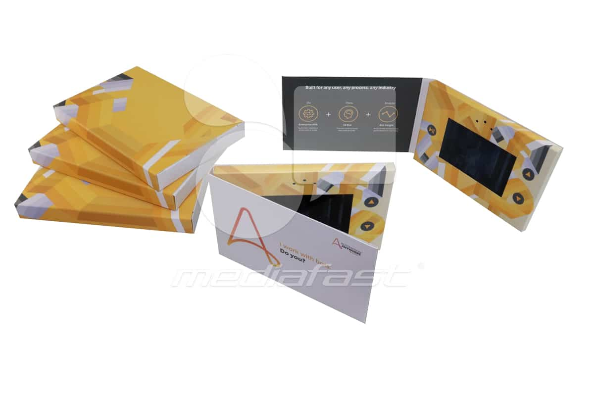 """Automation Anywhere Brochure 4 x 6  - Screen: 4"""""""