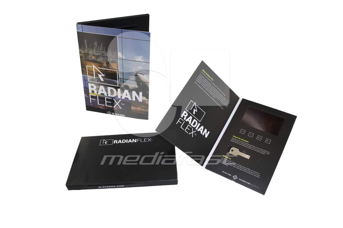 "Radian Flex - With USB  Brochure 6.5 x 9.5 - Screen: 5"""