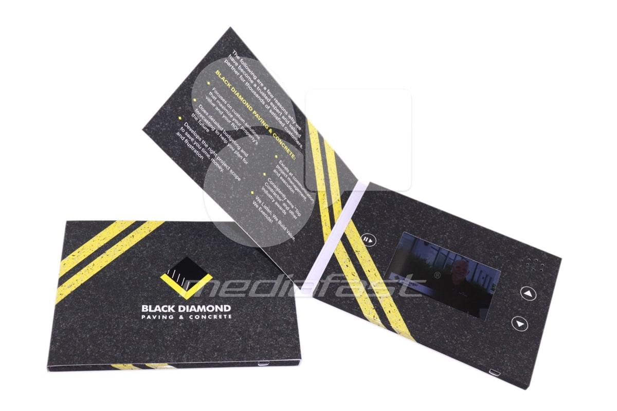 """Black Diamond Video Brochure 5 X 7- Screen: 4"""""""