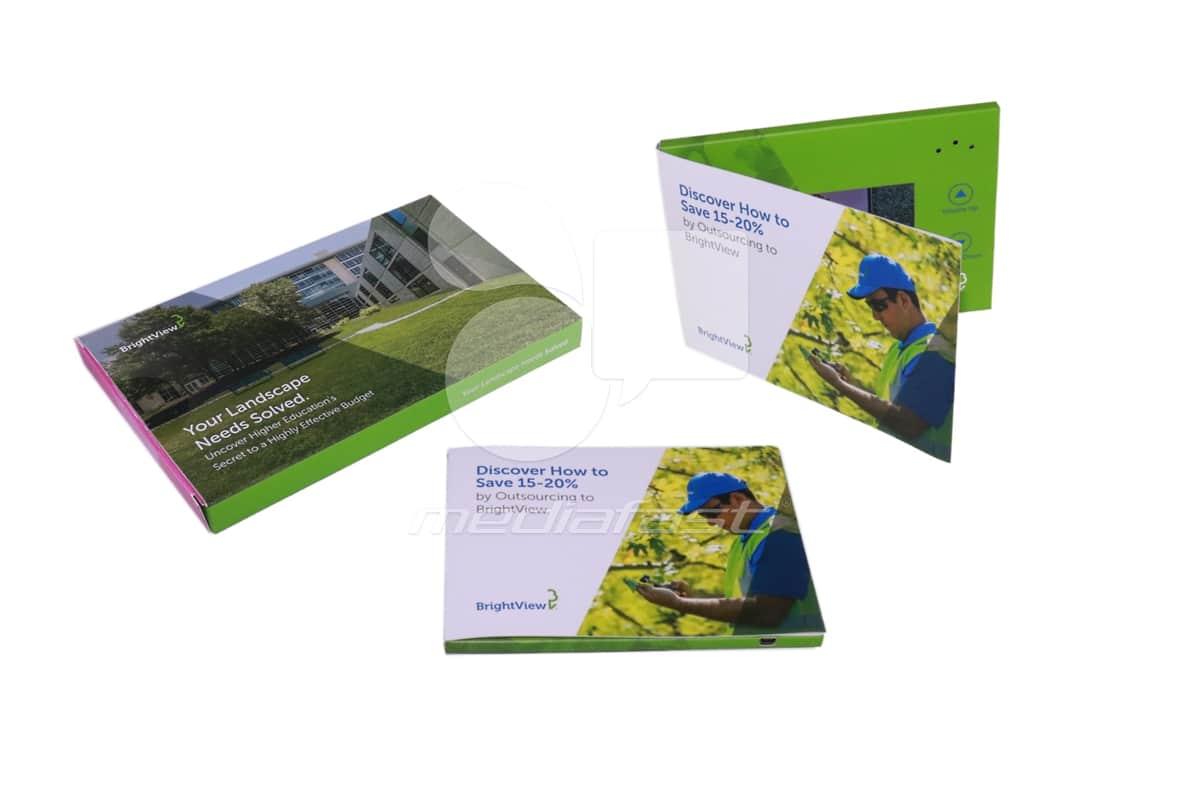 "Bright View Video Brochure Brochure 5 x 7 - Screen: 4"""