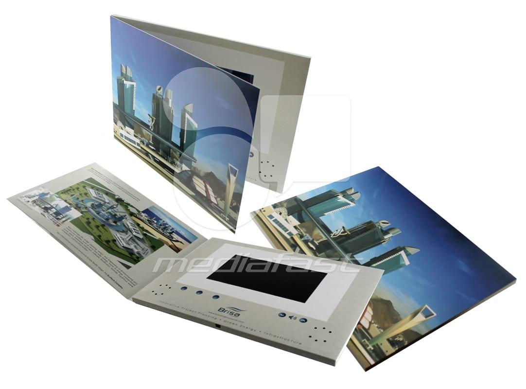 "Brisa Video Brochure 8.26 X 11. 61- Screen: 7"""