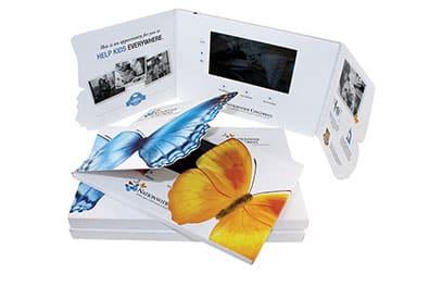 Butterfly video brochure