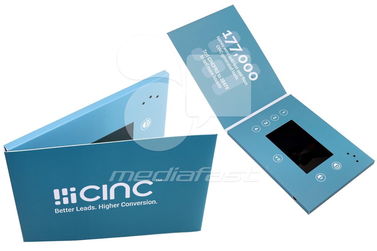 "CINC Video Brochure Brochure 5 x 6 - Screen: 4"""