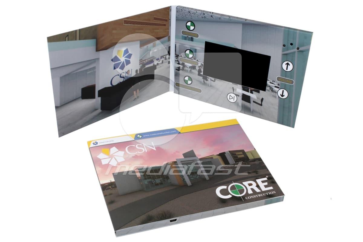 "CSN CORE Construction Video Screen: 4"""