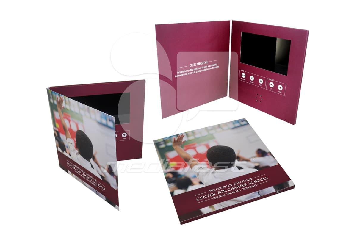"""Center fir Charter School Video Brochure 9 X 9- Screen: 7"""""""