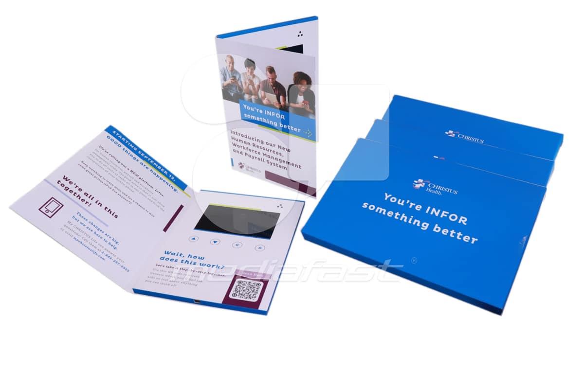 "Christus Health Video Brochure Brochure 6.5 x 9 - Screen: 5"""