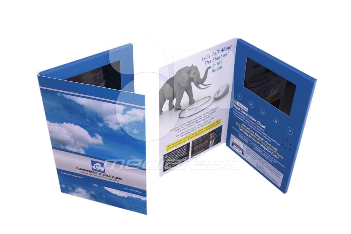"Commercial It Solutions Brochure 9 x 12- Screen: 7"""
