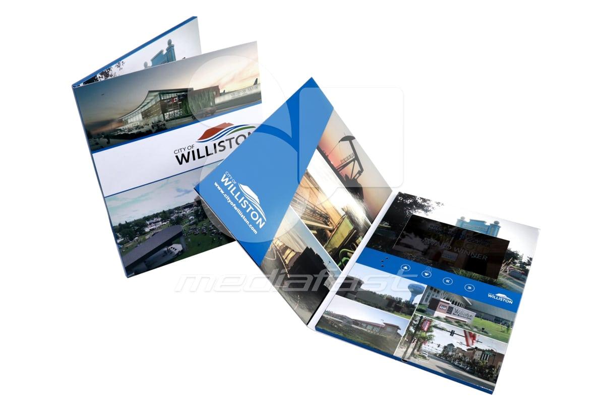 "City of Williston Video Brochure 9 X 12- Screen: 7"""