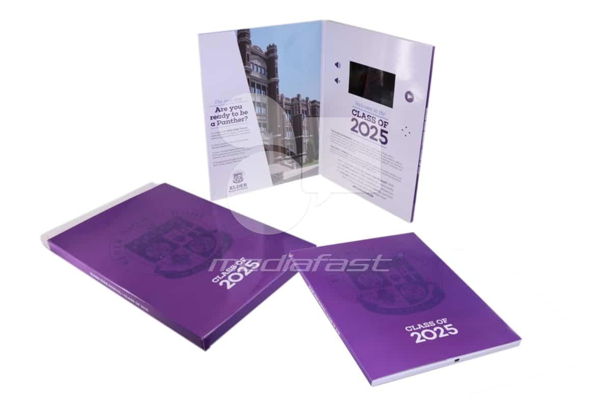 "Class of 2025 Video Brochure: 9 x 12- Screen: 4"""