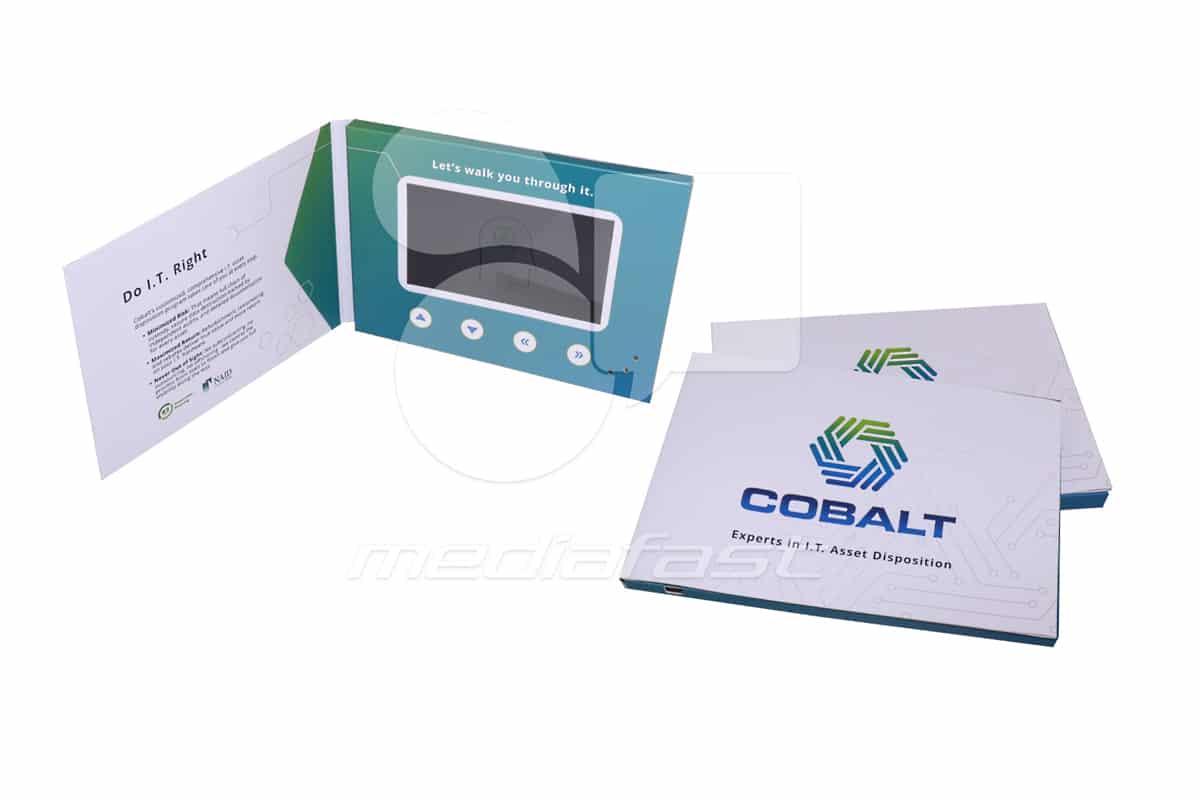 "Cobalt Video Brochure 5 X 7- Screen: 5"""