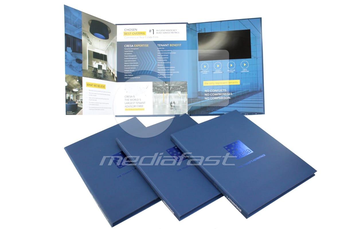 "Cresa Video Brochure 8.3 X 10.60- Screen: 7"""