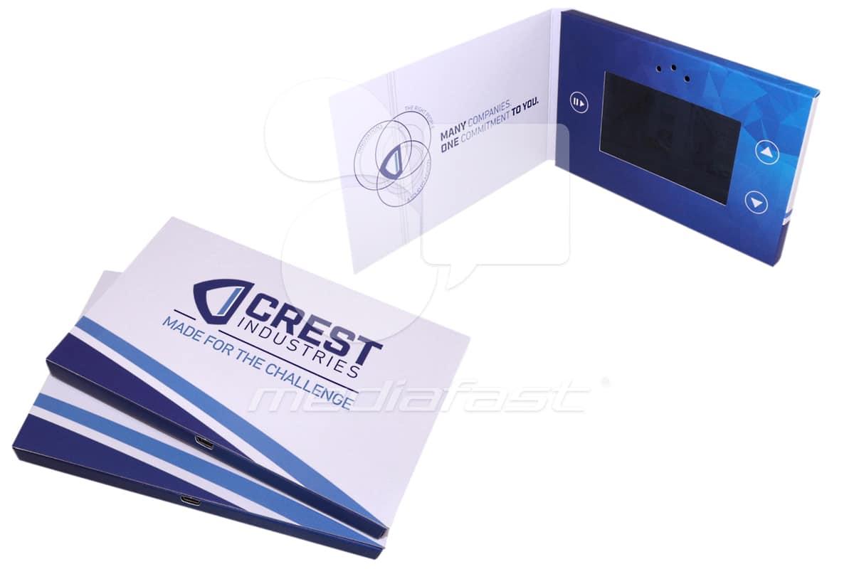"""Crest Industries Video Brochure 4 X 6- Screen: 4"""""""