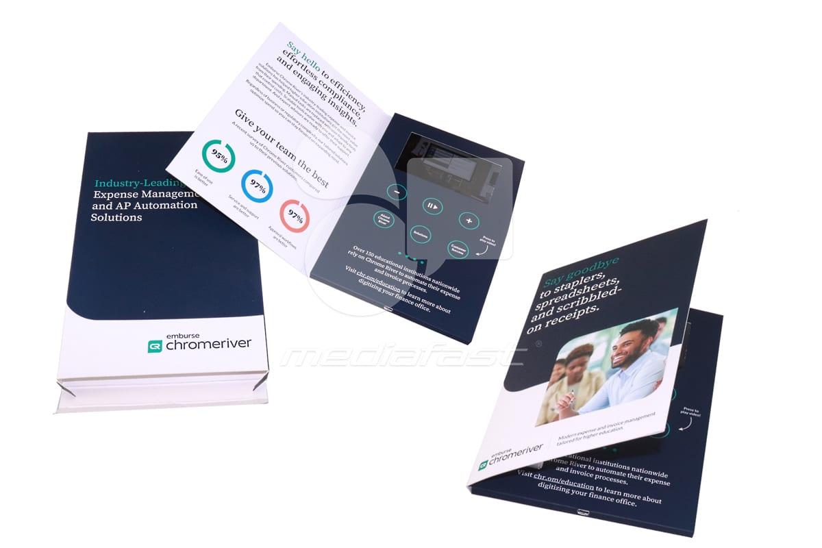 "Chrome River Technologies Video Brochure 6.5 x 9.6 - Screen: 5"""