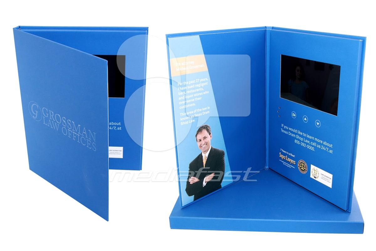 "Crossman Law Offices Video Brochure 8.80 X 11.60- Screen: 4"""