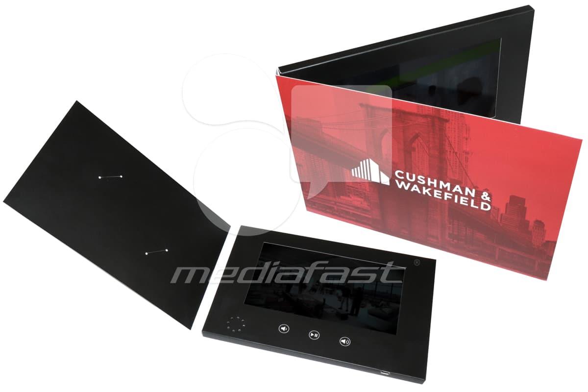"Cushman & Wakefield Video Brochure 5.75 X 8.5- Screen: 7"""
