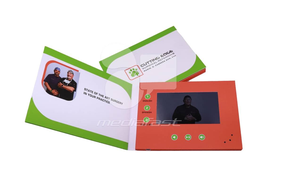 "Cutting Edge Video Brochure 5 x 7 - Screen: 4"""