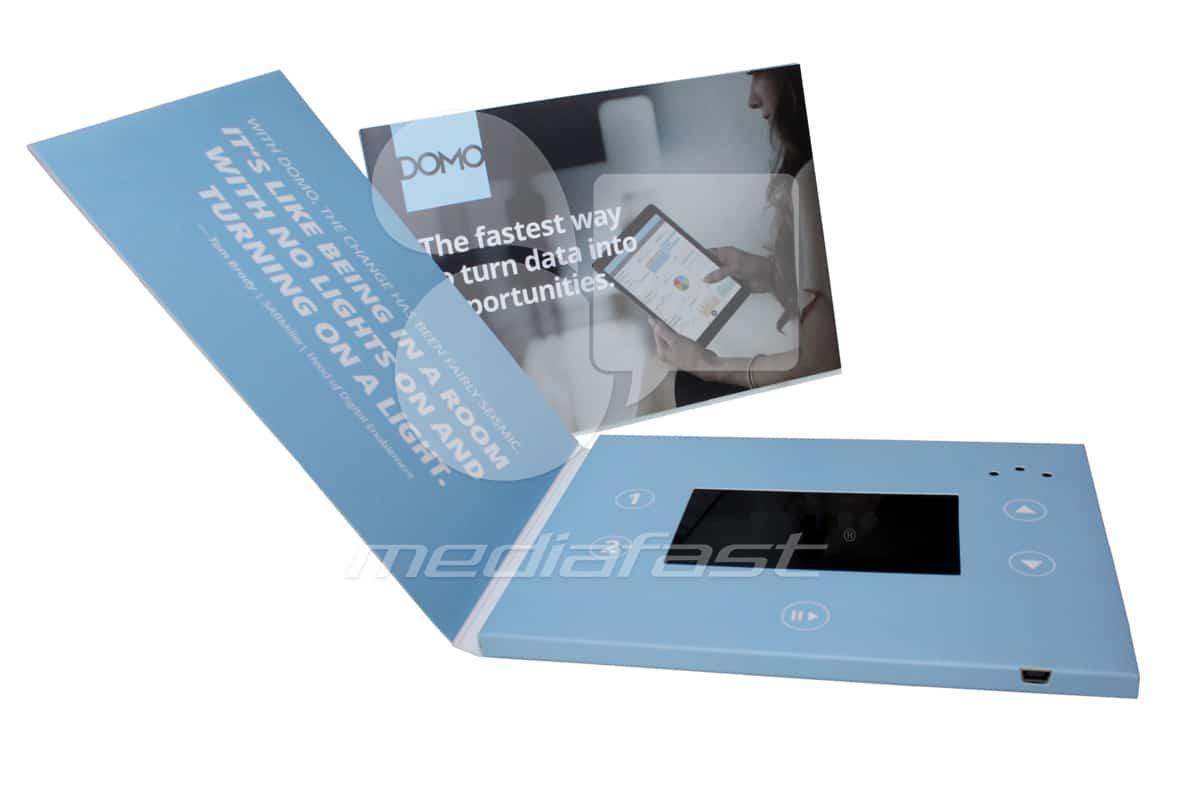 "DOMO Video Brochure 5 X 7- Screen: 4"""