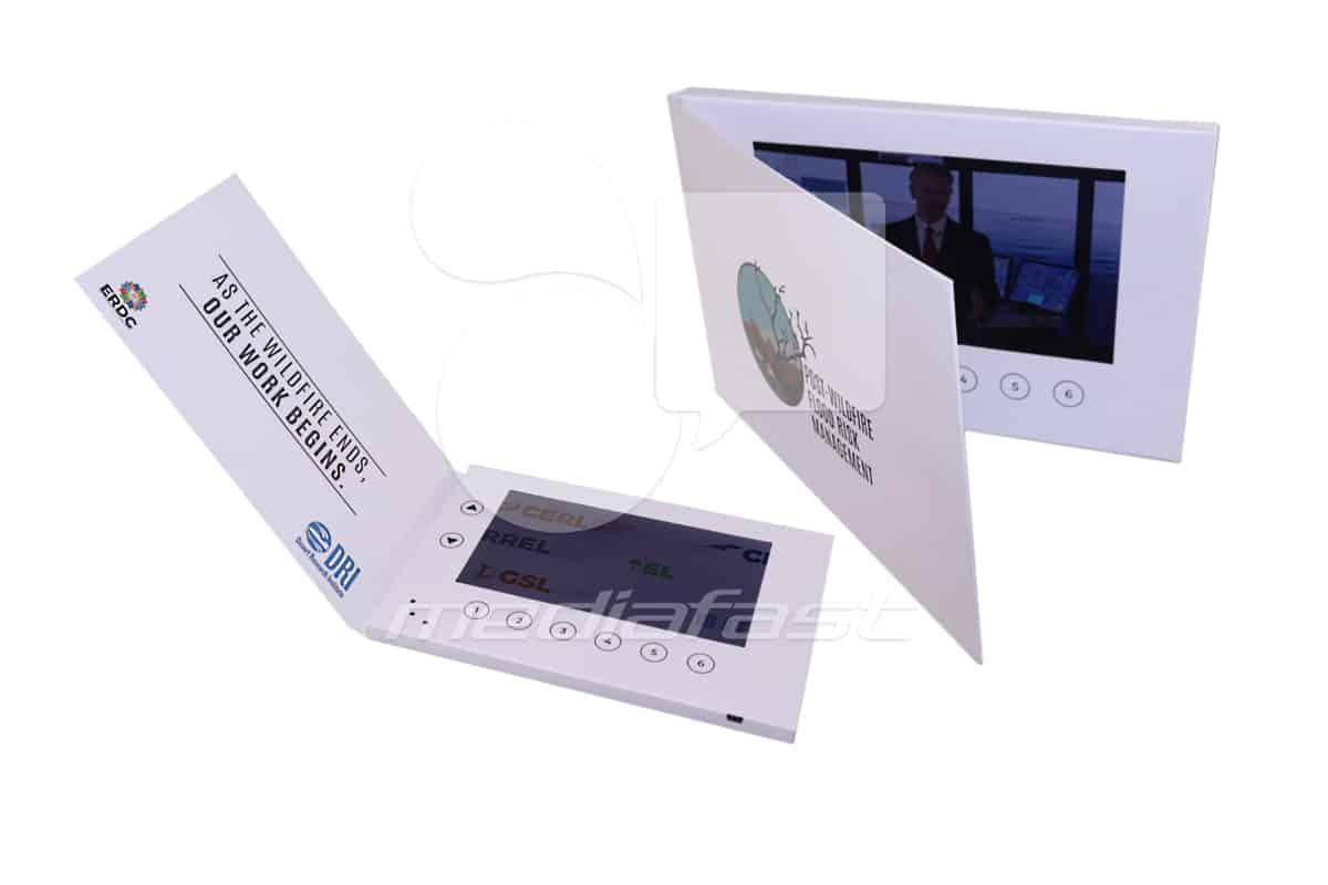 "DRI Group Video Brochure 5.75 X 8.5- Screen:7"""