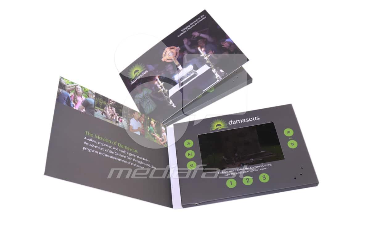 """Damascus Video Brochure 5 X 7- Screen: 5"""""""
