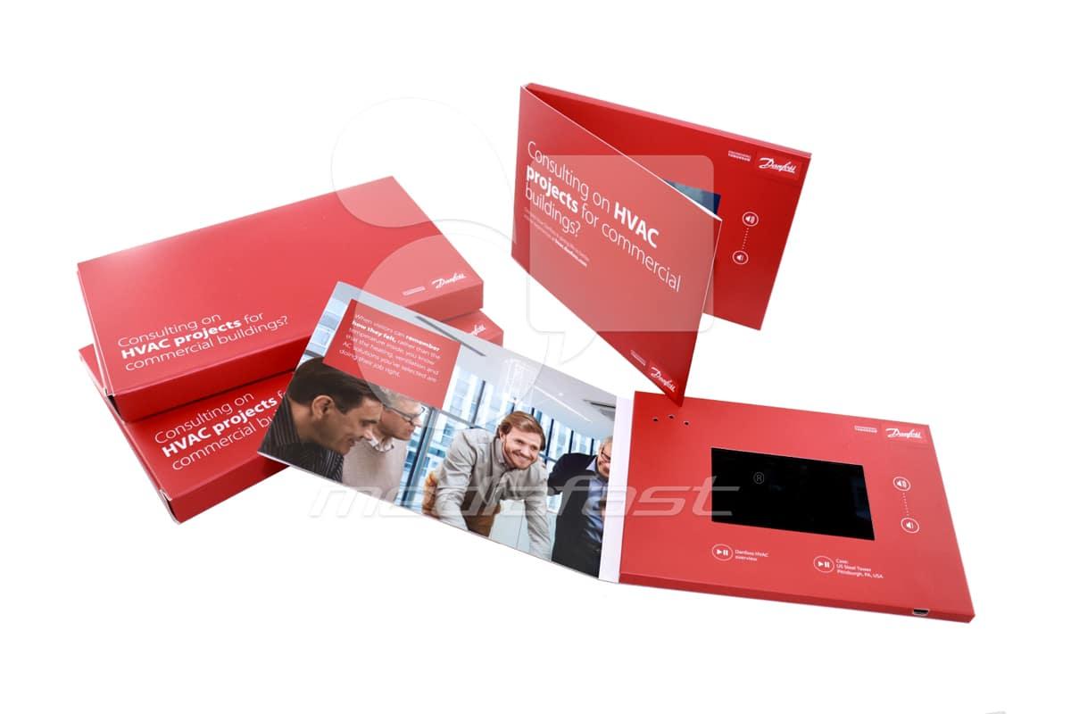"""Danfoss Video Brochure 5 X 7- Screen: 4"""""""