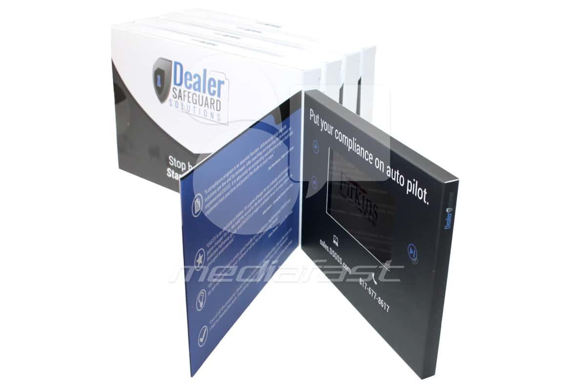 """Dealer SafeGuard Video Brochure 5 X 7- Screen: 5"""""""