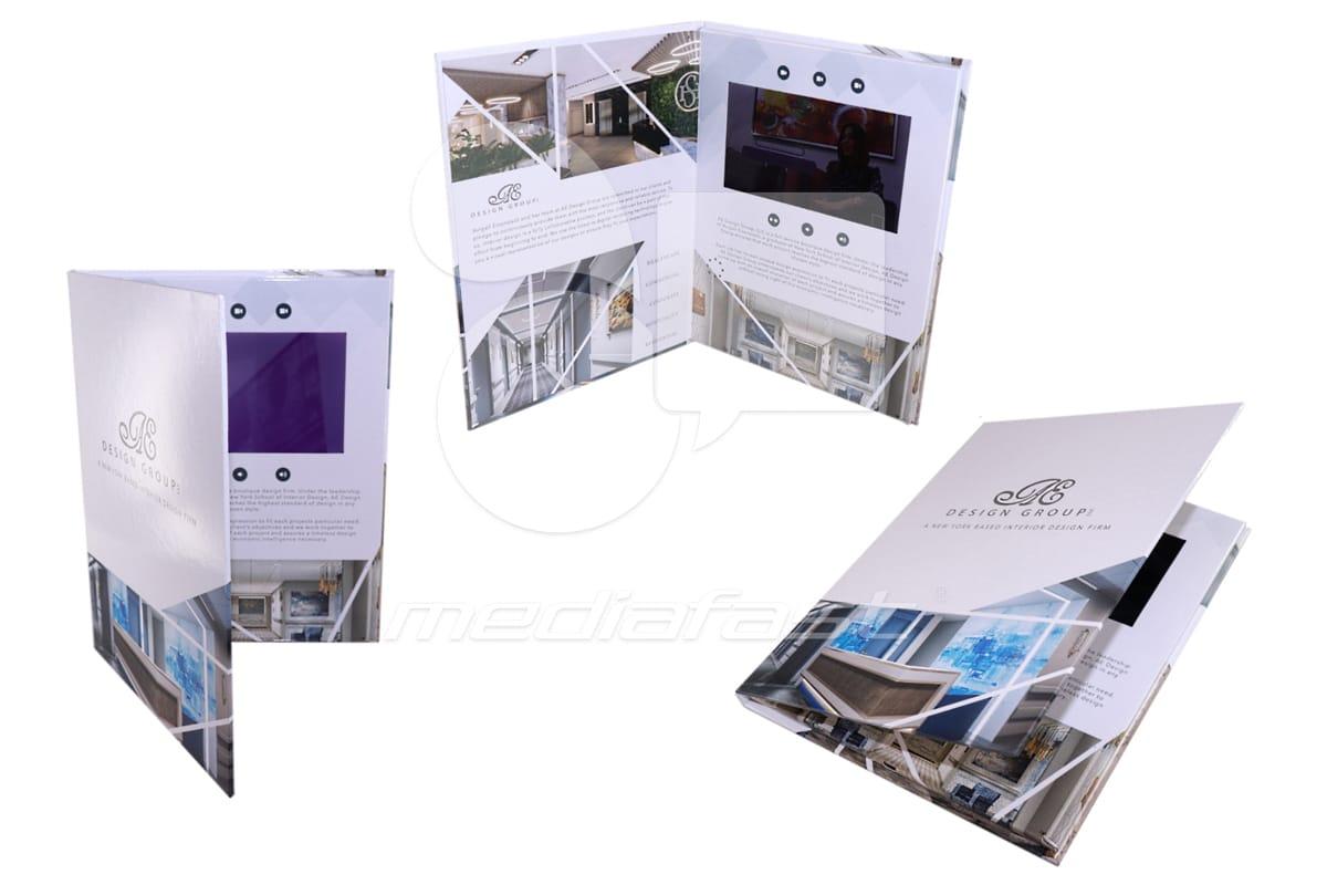 "Design Group Video Brochure 9 X 12- Screen: 7"""