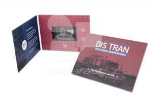 "Dis Tran Video Brochure 5 X 7- Screen: 4"""