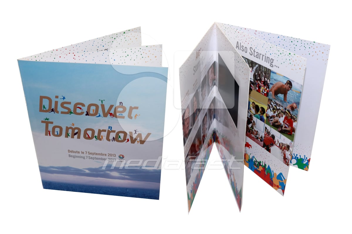 "Discover Tomorrow Video Brochure 9.25 X 11.15- Screen: 5"""