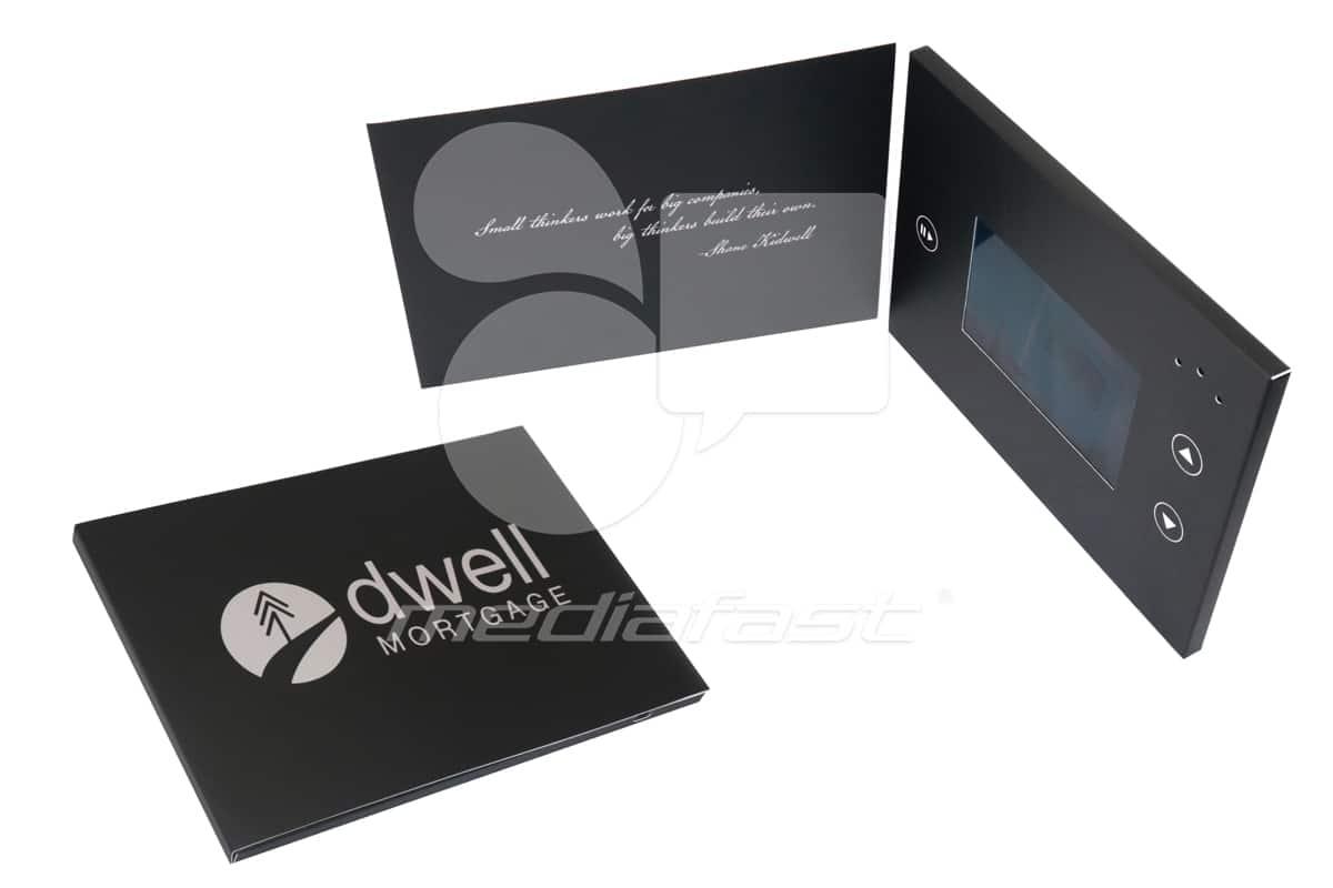"Dwell Mortgage Video Brochure 5 X 7- Screen:4"""