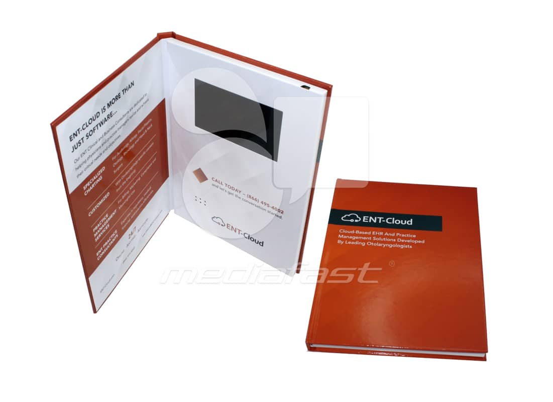 """ENT- Cloud Video Brochure 9 X 12- Screen:4"""""""