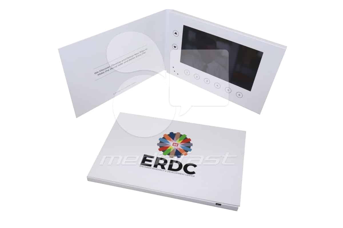 """ERDC Video Brochure 5.75 X 8.5- Screen:7"""""""