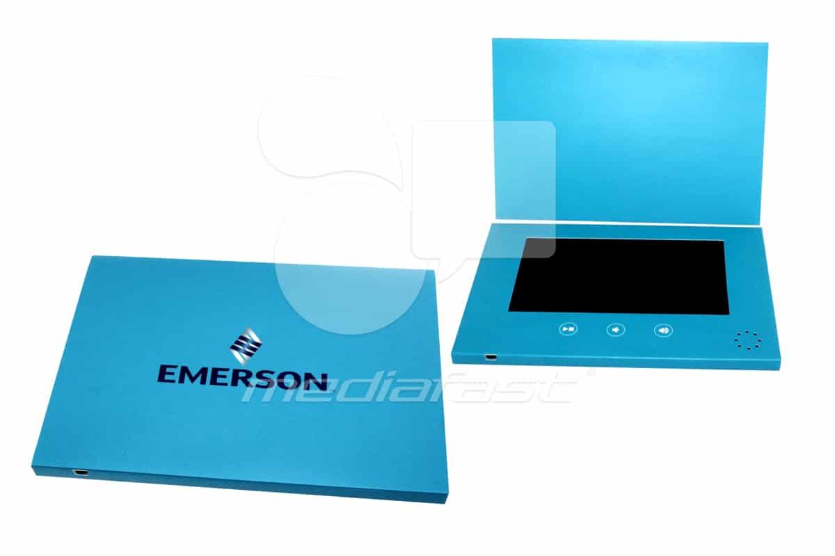 "Emarson Video Brochure 7 X 10- Screen:7"""