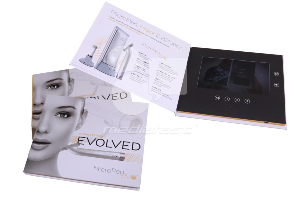 "Evolved Video Brochure Brochure 8.5 x 7 - Screen: 7"""