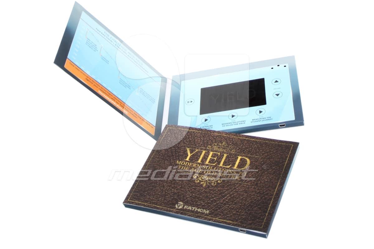 "FATHOM, YIELD Video Brochure 5 X 7- Screen:4"""