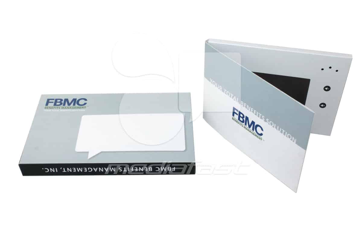 "FBMC Video Brochure 5 X 7. Screen: 4"""