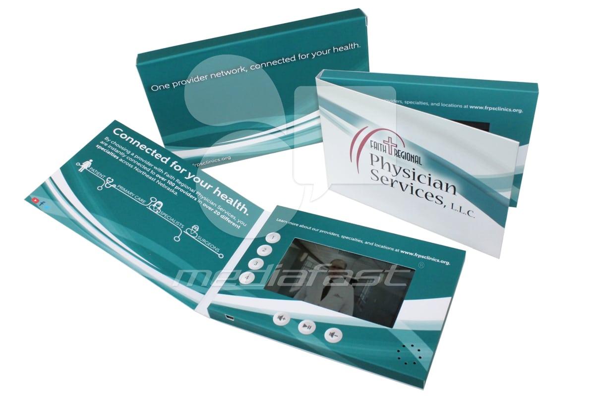 "Faith Regional Physician Service Video Brochure 5 X 7- Screen:5"""