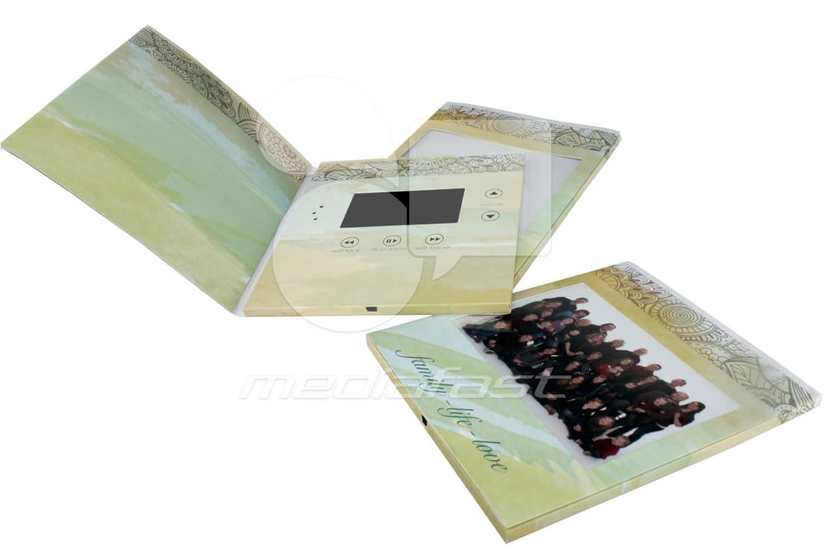 "Family MediaBuk Brochure 7 X 7 - Screen: 4""  Buy Now"