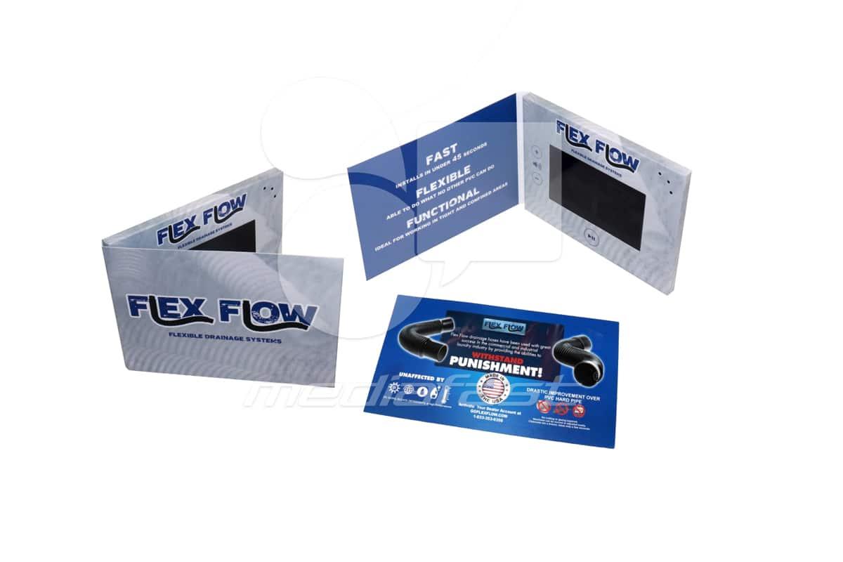 "Flex Flow Video Brochure 5 X 7. Screen: 5"""