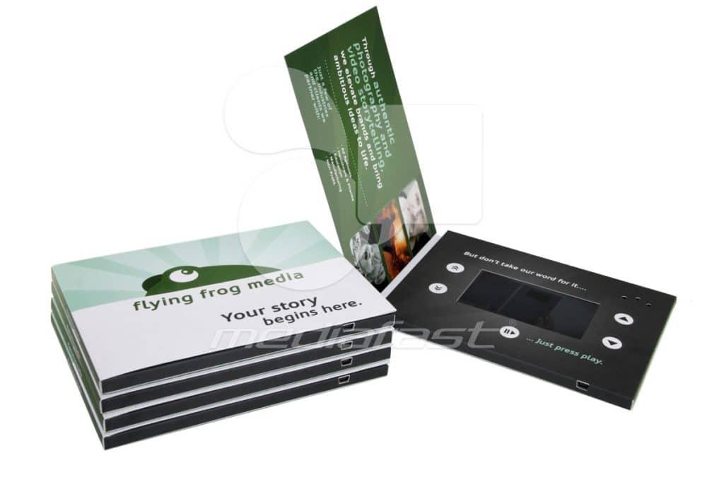 "Flying Forg Media Video Brochure 5 X 7. Screen: 4.3"""