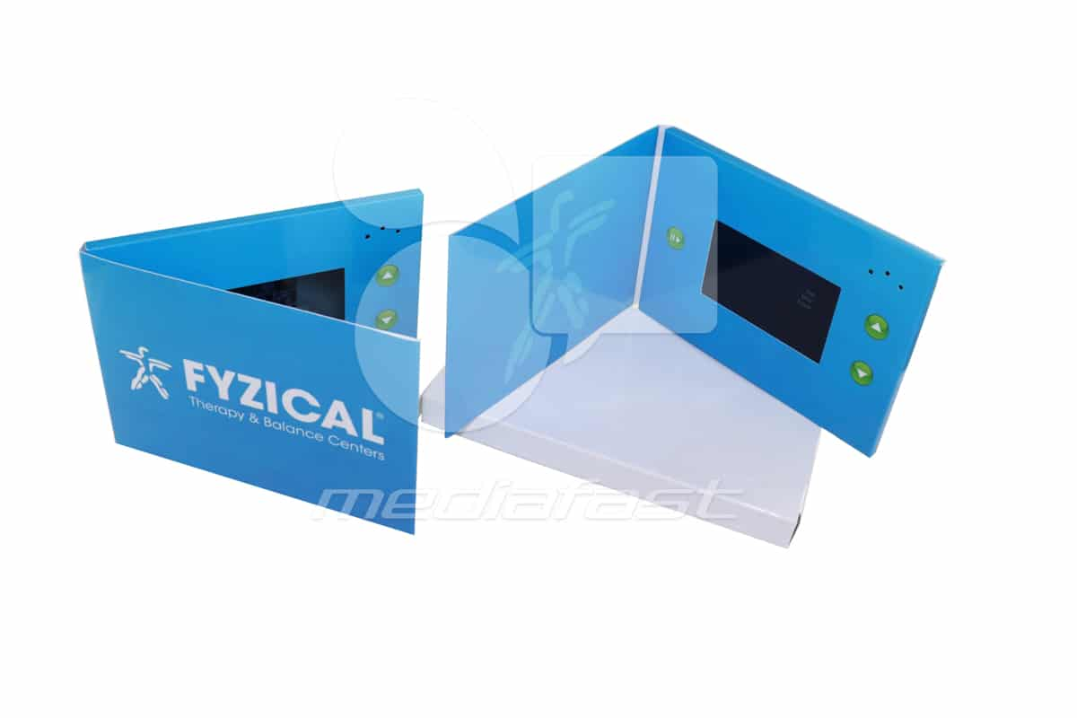 """Fyzical Therapy and Balance Center Video Brochure 5 X 7. Screen: 4"""""""