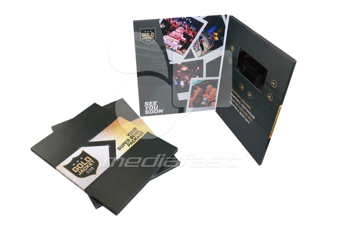 "Gold Jacket Club Video Brochure 9 X 12. Screen: 5"""
