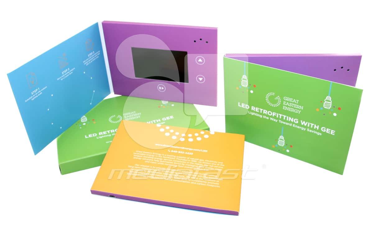 "Great Eatern Energy Video Brochure 5 X 7. Screen: 4"""