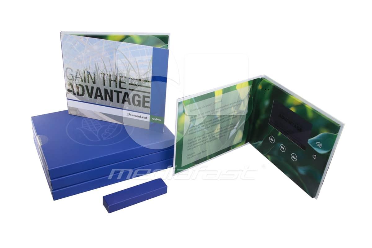 """Green Leaf, Syngenta Video Brochure 7 X 8. Screen: 5"""" Screen: 4"""